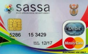 Sassa card